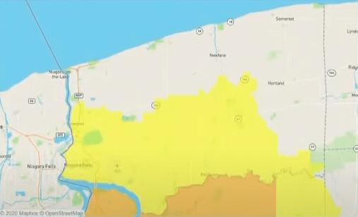 niagara cluster map