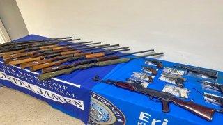 Fiscalía de Nueva York recoje armas de fuego