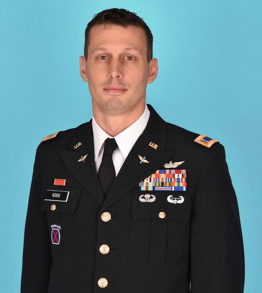 Chief Warrant Officer 4 Christian Koch
