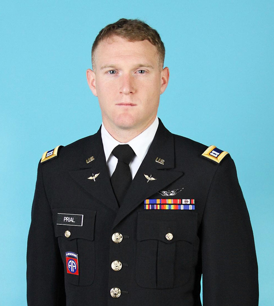 Chief Warrant Officer Two Daniel Prial