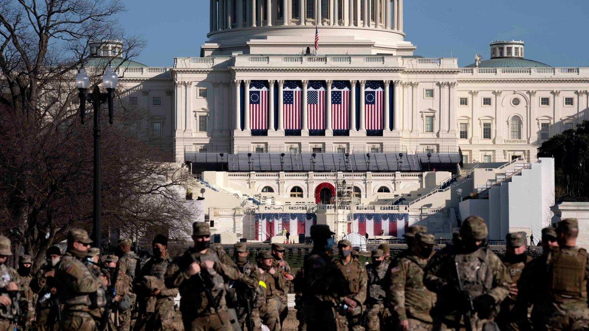Reprograman ensayo para la toma de posesión de Biden por cuestiones de seguridad - Telemundo 44 Washington DC