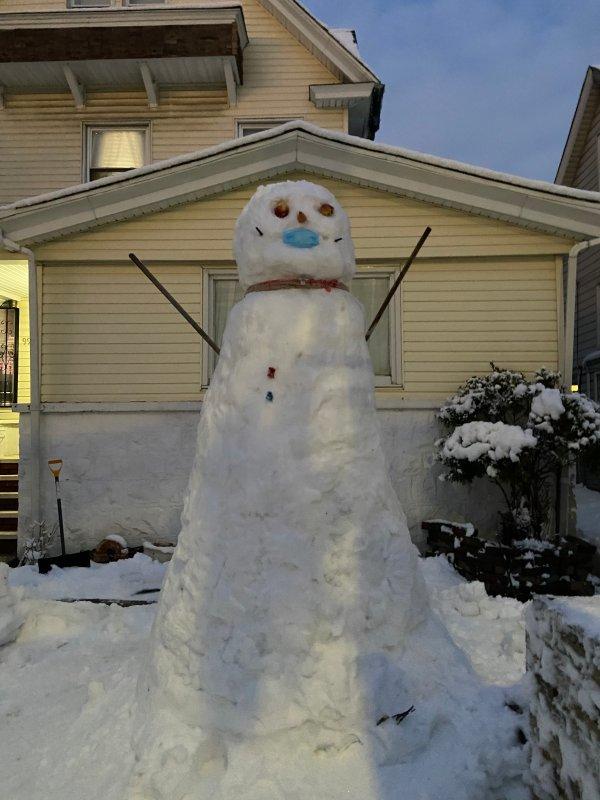 Galería: mira aquí fotos de la comunidad durante la tormenta invernal
