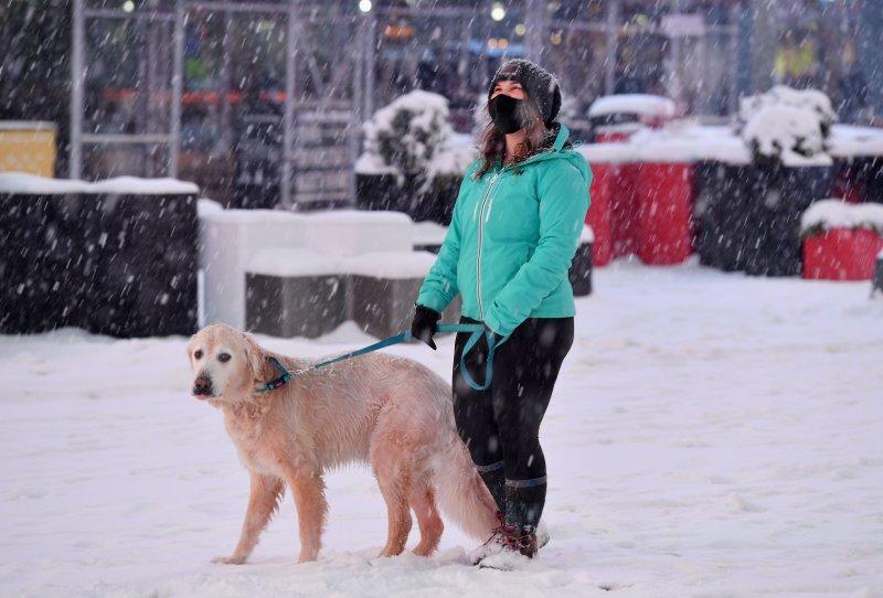 EN FOTOS: Tormenta invernal azota el área triestatal