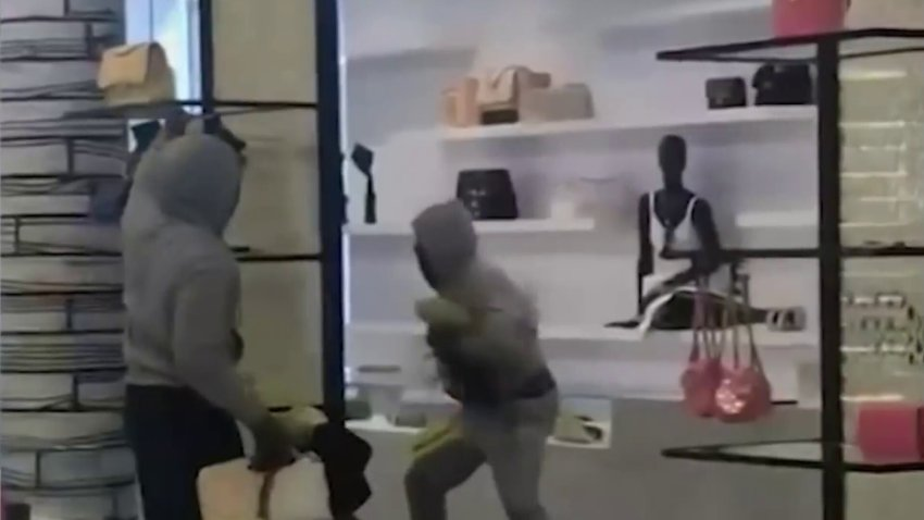 Robbers at Chanel store