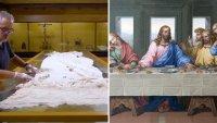 Video: este sería el mantel que usó Jesús y sus discípulos en La Última Cena