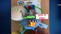 Por riesgo de asfixia retiran del mercado tres productos infantiles