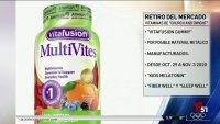 Retiran varios tipos de vitaminas por riesgo de contener un material metálico