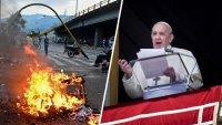 """""""Rezamos por su patria"""": papa Francisco expresa su preocupación por la crisis en Colombia"""