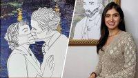 Del papel al codiciado NFT: ella es Fira, la primera criptoartista colombiana