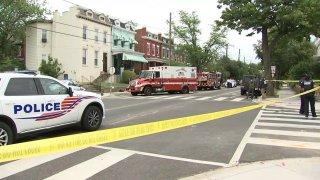 Upshur Street NW Shooting and Crash
