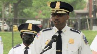Metropolitan Police Department Chief Robert Contee