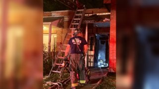 house fire in Southeast D.C. May 24, 2021