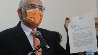 El expresidente de Bolivia Carlos Mesa