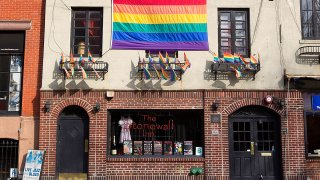 FILE - The exterior of the Stonewall Inn on March 13, 2012, in New York City.