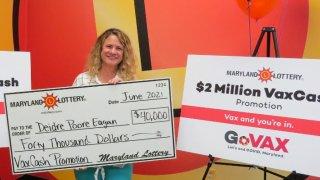 maryland vaccine lottery winner