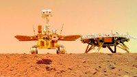 China revela nuevas imágenes de Marte tomadas por su robot explorador