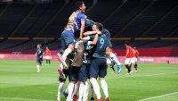 Argentina logró su primera victoria en Tokyo 2020 ante Egipto