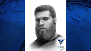 A composite sketch of an alleged police impersonator was circulated by the New Jersey State Police.