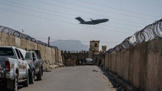 aeropuerto de kabul en afganistán