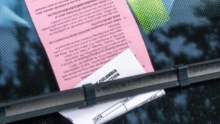dc parking ticket generic