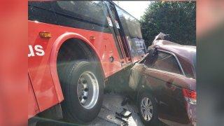rockville pike bus crash