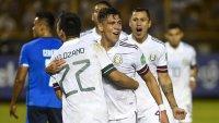 México vence a El Salvador y queda puntero en las eliminatorias para Qatar 2022