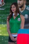 [FIFA2018] En el primer amistoso del 2018, la afición azteca se arremolinó con la mejor de sus galas futboleras para ver el choque entre el cuadro Tricolor y su rival europeo, en el Alamodome de San Antonio, Texas. Foto: Mexsport
