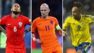 [FIFA2018] Estos son los mejores jugadores, cada uno en su posición, que no podremos ver en Rusia 2018.