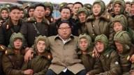 """Kim Jong un muestra a su """"ejército invencible"""""""