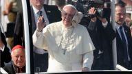 Lo que golpeó al papa Francisco en su papamóvil