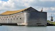 Reconstruyen el arca de Noé para cruzar el Atlántico