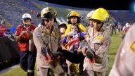 Caos previo a partido de fútbol deja muertos y heridos