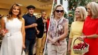 Compra, turismo y sangría: el plan de primeras damas del G7