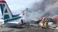 Avión se estrella en el este de Rusia; hay muertos