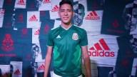 [FIFA2018] Se dio a conocer la nueva armadura de la Selección Mexicana desde el Monumento a la Revolución en la Ciudad de México. Aquí los detalles. Foto: imago7