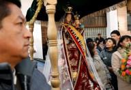 Ecuador: paro baja feligreses a peregrinación de la virgen del Quinche