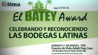 """Organización celebra los premios """"El Batey"""""""