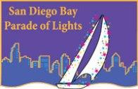 El desfile anual de luces de la bahía de San Diego