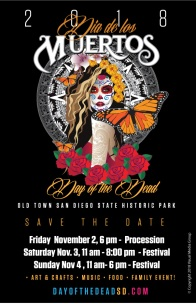 Old Town San Diego's Dia de los Muertos
