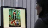 La pintura en la que aparece en tanga una virgen muy venerada ha causado una avalancha de comentarios a favor y en contra.