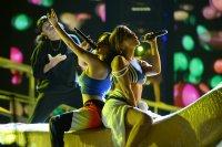 La cantante habló tras ensayar su presentación en los Premios Billboard de la Música Latina.