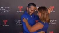 La presentadora puertorriqueña y el actor colombiano se reencontraron y no perdieron la oportunidad para otro bailecito. ¿Hubo beso esta vez? Mira...