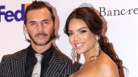 Germán Rosete se enfrentó a esta pregunta mientras desfilaba con la ex Miss Universo puertorriqueña en una alfombra roja.
