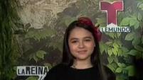 La pequeña actriz Isabel Sierra se pone en la piel de la hija de Teresa Mendoza, interpretada por Kate del Castillo.