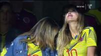 La modelo venezolana quien presuntamente mantiene una relación con el 10 de la selección Colombia,James Rodríguez,fue captada...