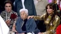 Thalía acudió a la Ciudad de México para festejar el centenario de su abuelita y rompió con el distanciamiento de Laura Zapata.