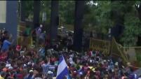 Miles de centroamericanos presionan su salida de Guatemala.
