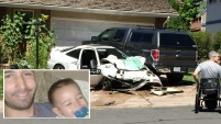 Un hombre admitió que no le puso el cinturón de seguridad a su hijo de dos años para que muriera en un choque.