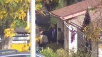 Por medio de una orden de cateo, diversas agencias inspeccionaron la casa en Valencia, vinculada al sospechoso de 16 años.