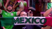Así celebraron la gran victoria de México del domingo en San Diego y Tijuana.